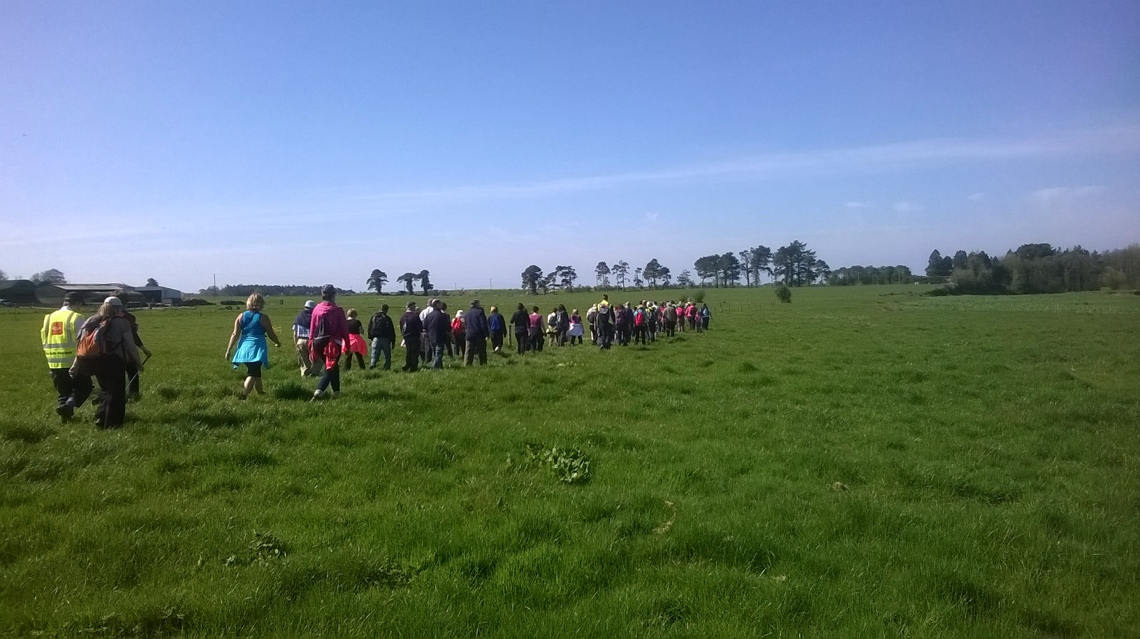 Pilgrim Walk to Holycross